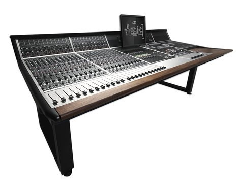 Audient ASP8024-HE-36-PD  36-Channel Analog Inline Console with Producer's Desk ASP8024-HE-36-PD