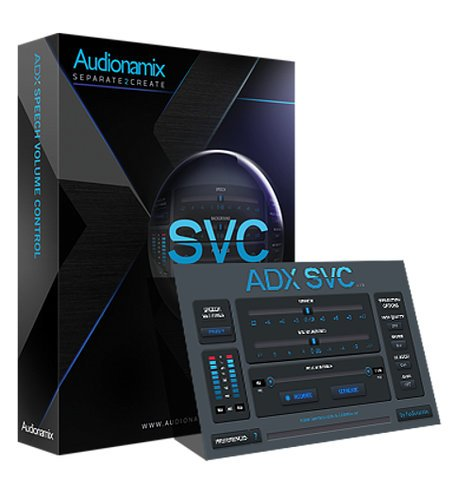 Audionamix ADX SVC [DOWNLOAD] Speech Volume Control Plugin SVC