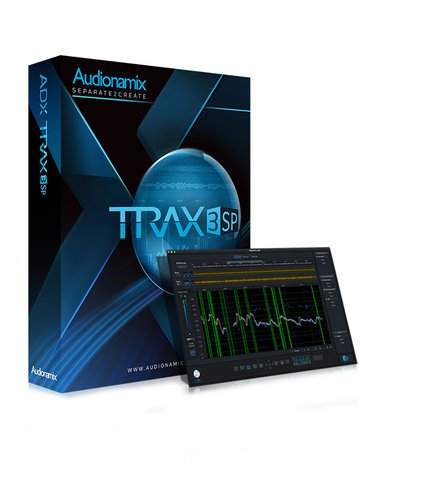 Audionamix TRAX 3 SP [DOWNLOAD] Automated Speech Separation Software TRAX-SP