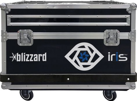 Blizzard Lighting IRIS Flight Case 6 Panel Flight Case CASE-IRIS6