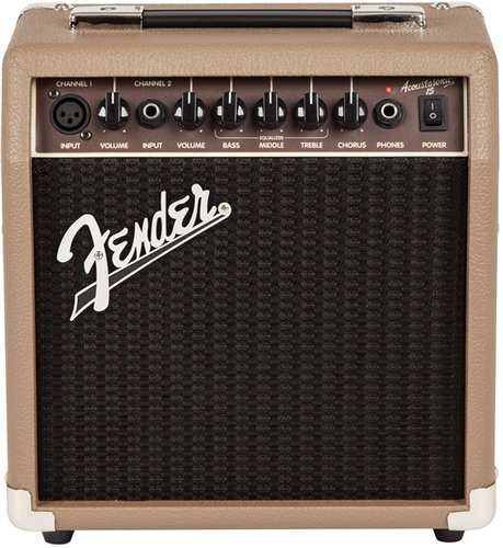 Fender Acoustasonic 15 15W Guitar Combo Amplifier ACOUSTASONIC-15