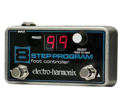 Electro-Harmonix 8STEP-CONTROLLER Pedal Controller, for 8Step Program 8STEP-CONTROLLER
