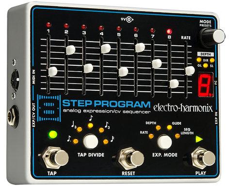 Electro-Harmonix 8STEP Analog Expression/ CV Sequencer 8STEP