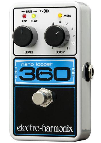 Electro-Harmonix Nano Looper 360 Compact Looper Effects Pedal 360-NANO-LOOPER