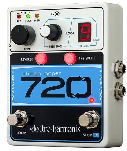 Electro-Harmonix 720 Stereo Looper Looping Guitar Pedal 720-STEREO-LOOPER