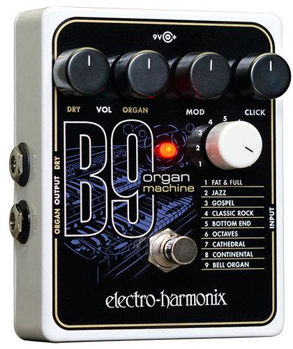 Electro-Harmonix B9 Organ Machine Effect Pedal B9-ELECTRO-HARMONIX