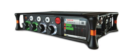 Sound Devices MixPre 6 6 Input, 8-Track Audio Recorder, Mixer and USB Audio Interface MIXPRE-6
