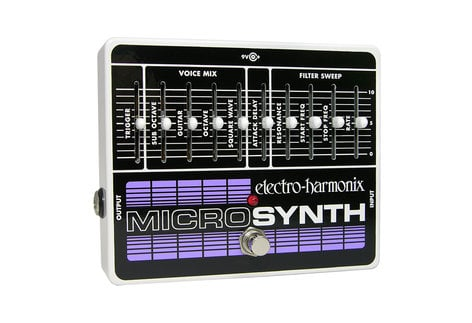 Electro-Harmonix MICROSYNTH Analog Guitar Microsynth, PSU Included MICROSYNTH