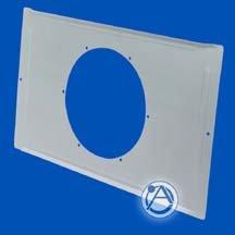 "Atlas Sound FA81-4  4"" Tile Bridge for Strategy Speakers and Model DLS 4 FA81-4"