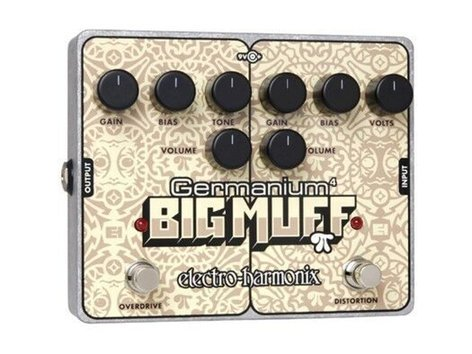 Electro-Harmonix Germanium 4 Big Muff Pi Distortion/Overdrive Pedal BIG-MUFF-GERM4