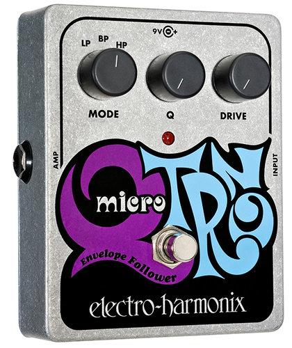 Electro-Harmonix MICRO Q-TRON Envelope Filter Pedal MICROQTRON