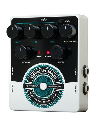 Electro-Harmonix Crash Pad Electronic Crash Drum Synthesizer CRASH-PAD