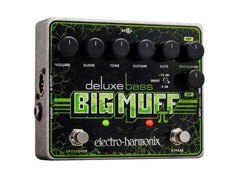 Electro-Harmonix Deluxe Bass Big Muff Pi Fuzz Pedal for Bass Guitars DELUXE-BASS-BIG-MUFF