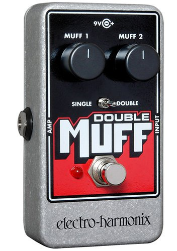 Electro-Harmonix DOUBLE MUFF Fuzz/Overdrive Pedal DOUBLEMUFF