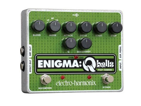 Electro-Harmonix ENIGMA Envelope Filter Pedal for Bass, PSU Included ENIGMA