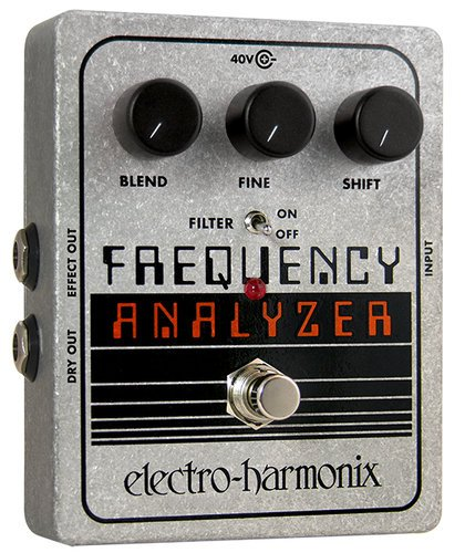 Electro-Harmonix FREQUENCY ANALYZER Ring Modulator Pedal, PSU Included FREQUENCYANALYZER