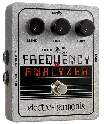 Electro-Harmonix FREQUENCY ANALYZER Ring Modulator Pedal, PSU Included FREQUENCYANALYZER