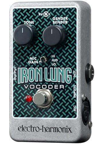 Electro-Harmonix IRON LUNG Vocoder Pedal, PSU Included IRONLUNG