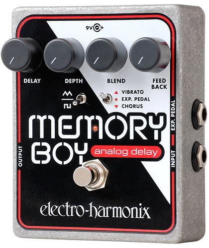 Electro-Harmonix MEMORY BOY Analog Delay with Chorus/Vibrato, PSU Included MEMORYBOY