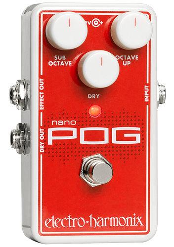 Electro-Harmonix Nano POG Compact Octave Pedal NANO-POG