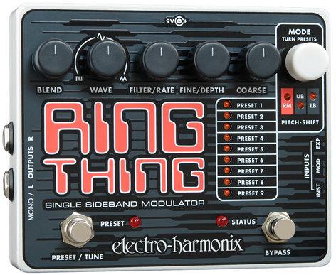 Electro-Harmonix RINGTHING Single Sideband Ring Modulator, PSU Included RINGTHING