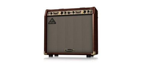 """Behringer ULTRACOUSTIC ACX450 2-Ch 45W 2x8"""" Acoustic Guitar Amplifier with Effects ACX450-ULTRACOUSTIC"""