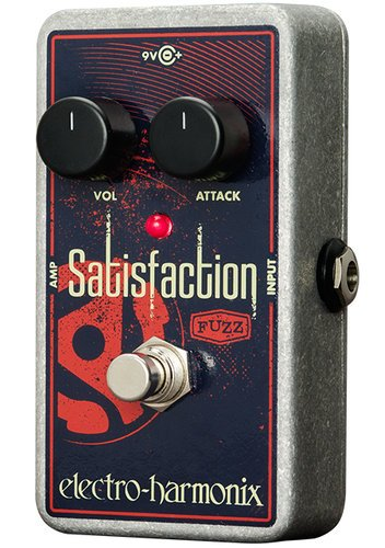 Electro-Harmonix Satisfaction Fuzz Pedal SATISFACTION-FUZZ