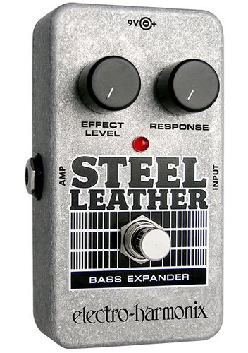Electro-Harmonix Steel Leather Attack Expander Bass Guitar Effects Pedal STEELLEATHER