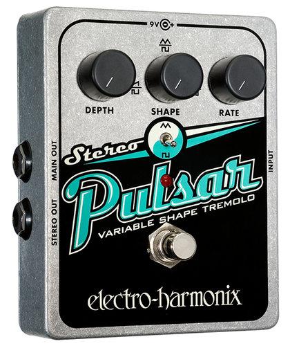 Electro-Harmonix STEREOPULSAR Analog Tremolo Guitar Pedal STEREOPULSAR