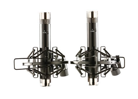 Apex Electronics Apex185B Matched Pair Pencil Condenser Microphones with Shockmounts APEX185B