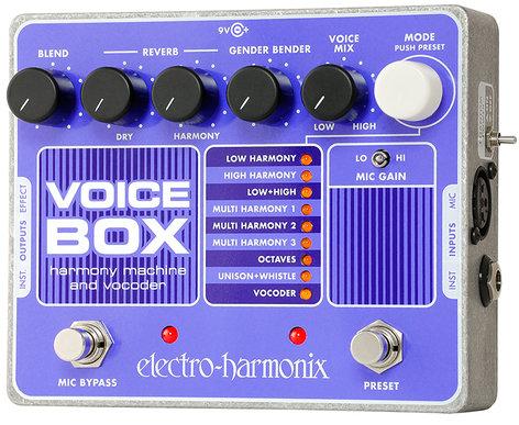 Electro-Harmonix VOICEBOX Harmony Machine and Vocoder, PSU Included VOICEBOX