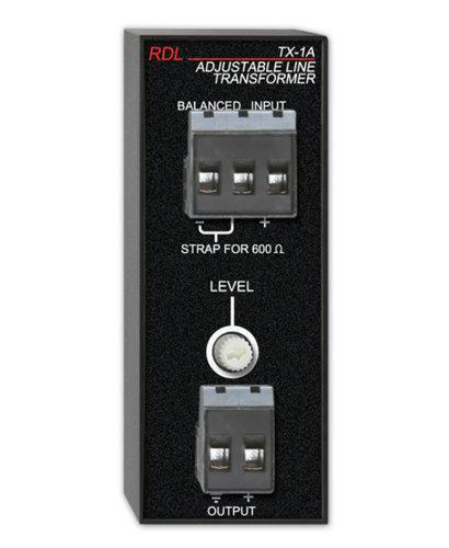 Radio Design Labs TX-1A Adjustable Line Transfomer, 10K/600-10K TX1A