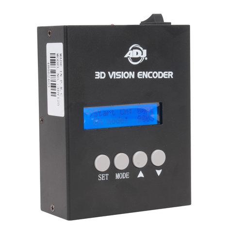 ADJ 3D-VISION-ENCODER  3D Vision DMX Encoder  3D-VISION-ENCODER