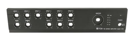 TOA 101.04.894.70  Front Faceplate Panel for A-706 101.04.894.70