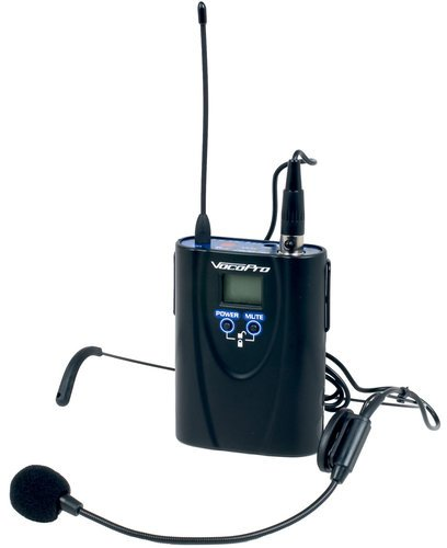 VocoPro UHF-5900-BP UHF Wireless Bodypack for UHF-5900 Wireless Microphone UHF-5900-BP