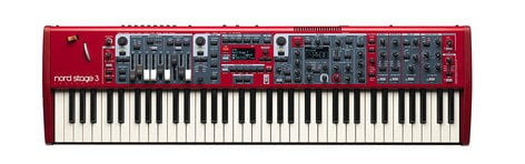 Nord USA Nord Stage 3 Compact 73-Note Semi-Weighted Waterfall Keybed NS3-COMPACT73