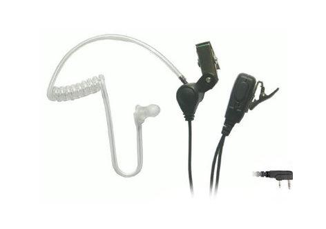 Eartec Co SSTKW3300LP  SST Headset Kenwood 2-Pin Plug Lapel Microphone with PTT SSTKW3300LP