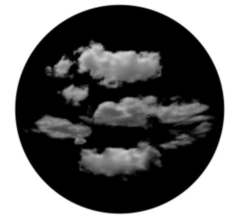 Apollo Design Technology SR-6129  Typical Clouds Glass Gobo SR-6129