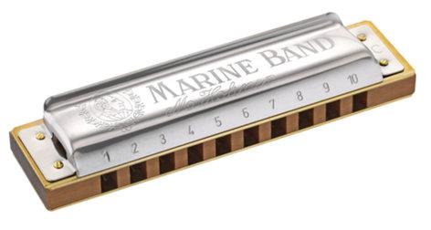 Hohner 1896BL Marine Band Harmonica 1896BL