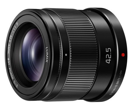 Panasonic H-HS043K 42.5mm, F1.7 ASPH., Micro Four Thirds, POWER Optical O.I.S. LUMIX G Lens HHS043K