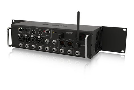Midas MR12 12-Input App-Controlled Digital Mixer with Integrated Effects, WiFi Module, and USB MR12