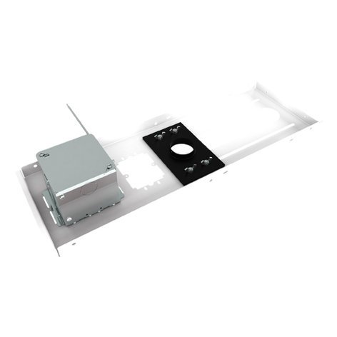 Chief Manufacturing CMS440N  Suspended Ceiling Projector Mount Kit with Power Outlet Housing CMS440N