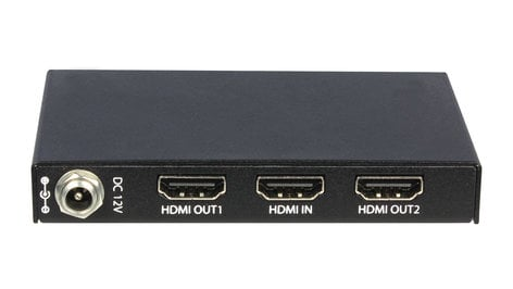 Intelix HD12S  1x2 Slim HDMI Distribution Amplifier HD12S