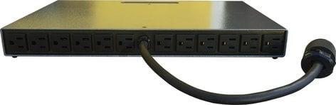 Doug Fleenor Designs DMX12DIM-ELV 12 Channel 100W Rack Mount Dimmer - Reverse Phase DMX12DIM-ELV