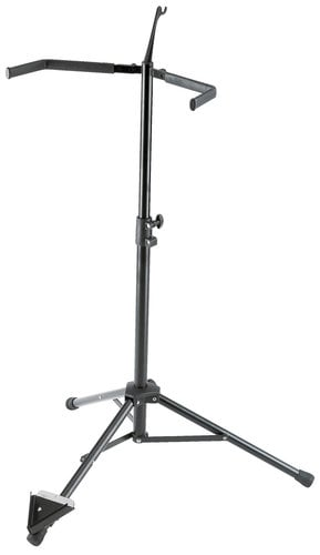 K&M Stands 141  Double Bass Stand, Black 141