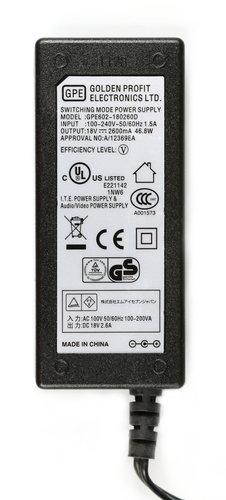 PreSonus 150-GPE602-180260D Presonus AC Adapter 150-GPE602-180260D