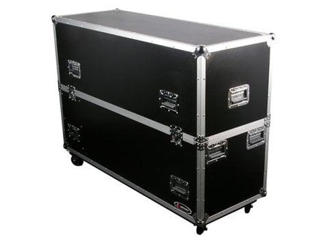 """Odyssey FZ2PLASMA50W  Flight Zone Series Dual 50"""" Flat Screen Monitor Case with Wheels FZ2PLASMA50W"""