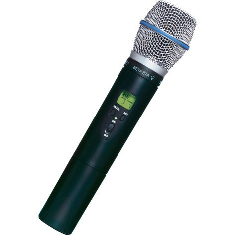 Shure ULX2/BETA87A-G3 [RESTOCK ITEM] UHF Handheld Transmitter 470-505 ULX2/BETA87A-RST-01