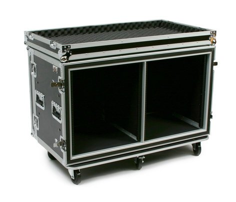 Elite Core Audio SC12U-20SXS  24 Space ATA Side by Side Amp Rack SC12U-20SXS