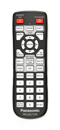 Panasonic N2QAYA000060 Remote Control for PT-DW830ULK N2QAYA000060